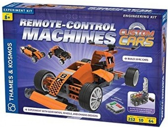 34% off Thames & Kosmos Remote-Control Machines: Custom Cars