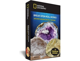 30% off Crack Open 15 Geodes and Explore Crystals with Nat Geo