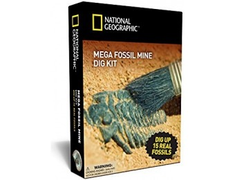 74% off National Geographic Mega Fossil Mine - Dig Up 15 Real Fossils