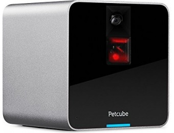 55% off Petcube HD Camera, 2-Way Audio and Built-in Laser Toy