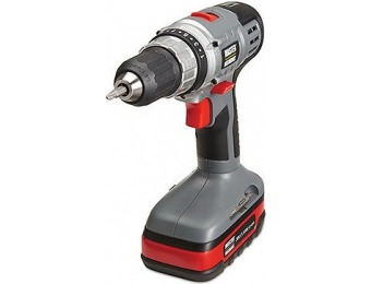 40% off Master Mechanic Cordless Drill, 20-Volt Lithium-Ion Battery