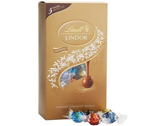 29% off Lindor Assorted Chocolate Box, 120 Truffles, 50.8 Ounce