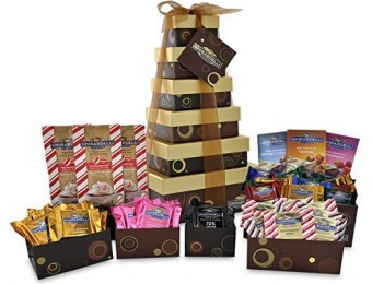 37% off Ghirardelli 6 Tier Tower Holiday Chocolate Gift Set