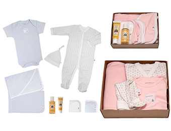 37% off Burt's Bees Baby Newborn Bedtime to Bathtime 9 Pc Gift Set