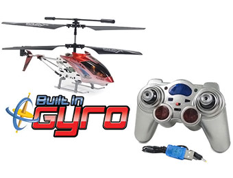50% off Gyro Metal Raptor 500 3.5CH RC Helicopter
