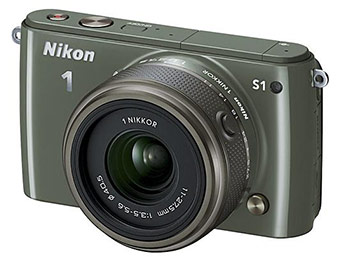 $220 off Nikon 1 S1 10.1-MP HD Digital Camera w/ NIKKOR Lens