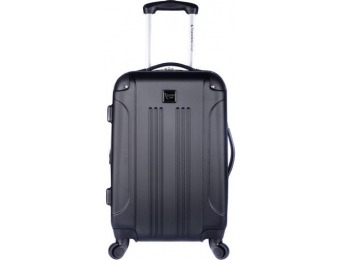 "64% off Travelers Club 20"" Hardside Spinner Rolling Carry-On"