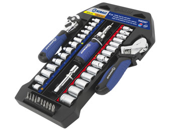 68% off Kobalt 42-Piece Stubby Tool Set with Shelf