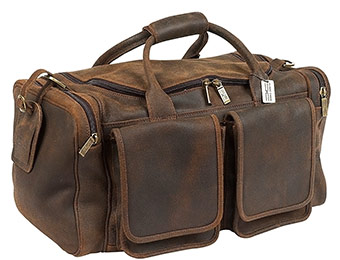 $332 off ClaireChase Hampton Premium Leather Duffel Bag