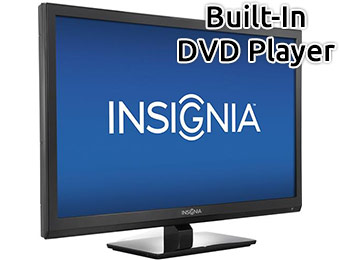 "Extra $30 off Insignia 24"" LED HDTV/DVD Player Combo"