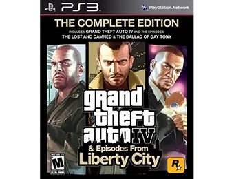 33% off Grand Theft Auto IV: The Complete Edition (PlayStation 3)