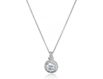 80% off Platinum-Plated Sterling Silver and Swarovski Necklace