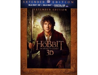 75% off The Hobbit: An Unexpected Journey 3D (Blu-ray 3D + Blu-ray)