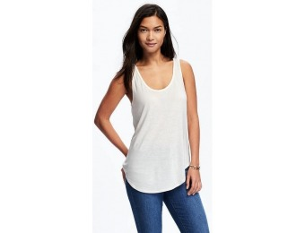 80% off Old Navy Relaxed Curved Hem Scoop Neck Tank For Women
