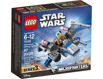 63% off LEGO Star Wars Resistance X-Wing Fighter 75125