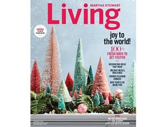 92% off Martha Stewart Living Magazine - 1 year auto-renewal