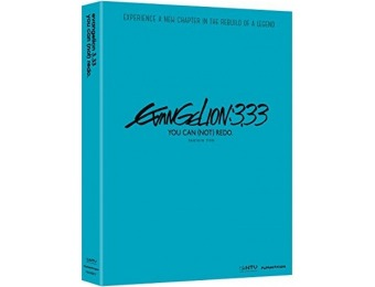 40% off Evangelion 3.33: You Can {Not} Redo (DVD)