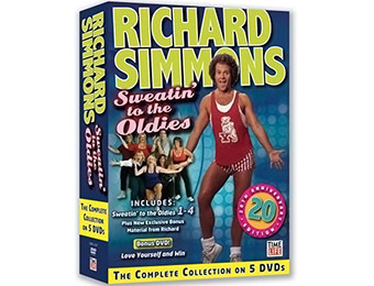62% off Richard Simmons: Sweatin' to the Oldies Special Edition DVD