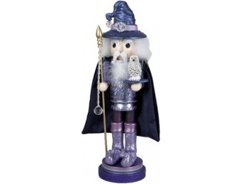"65% off Kurt Adler 18"" Hollywood Wooden Wizard Nutcracker"