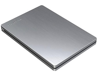 44% off Toshiba Canvio Slim 500GB USB 3.0 Portable Hard Drive