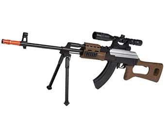 56% off Jinma JM721-2 Crossfire AK-47 Spring Airsoft Sniper Rifle
