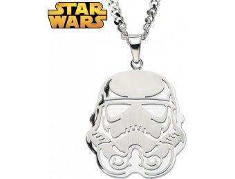 86% off Storm Trooper Necklace