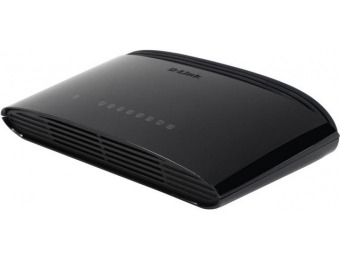 71% off D-Link DGS-1008G Gigabit Desktop Switch