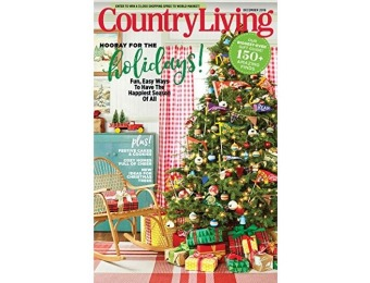 90% off Country Living Magazine - 6 month auto-renewal
