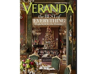 94% off Veranda Magazine - 6 month auto-renewal