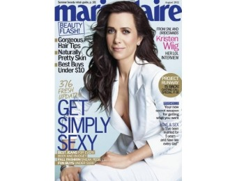 90% off Marie Claire Magazine - 6 month auto-renewal