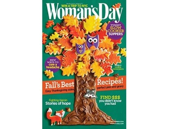 82% off Woman's Day Magazine - 6 month auto-renewal
