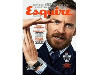 90% off Esquire Magazine - 6 month auto-renewal