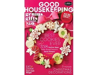 88% off Good Housekeeping Magazine - 6 month auto-renewal