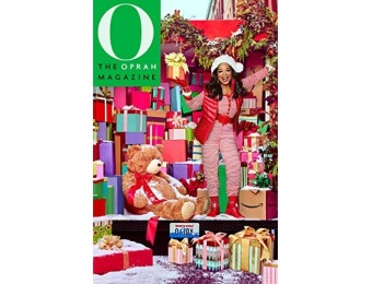 91% off O, The Oprah Magazine - 6 month auto-renewal