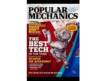 96% off Popular Mechanics Magazine - 6 month auto-renewal