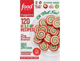 89% off Food Network Magazine - 6 month auto-renewal