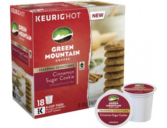 33% off Green Mountain Coffee Cinnamon Sugar Cookie (18-Pack)
