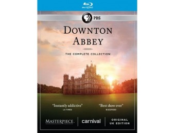 $45 off Downton Abbey: The Complete Collection (Blu-ray)