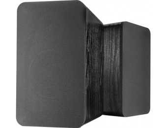 60% off Insignia Powered Bookshelf Speakers (Pair)