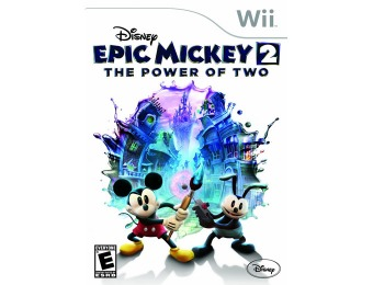 50% off Disney Epic Mickey 2: The Power of Two (Nintendo Wii)