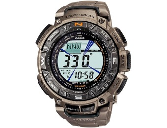 $195 off Casio Pathfinder Triple Sensor Compass Watch PAG240T-7