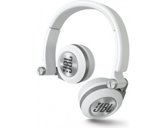 44% off JBL Synchros E30 Headphones with Mic, White