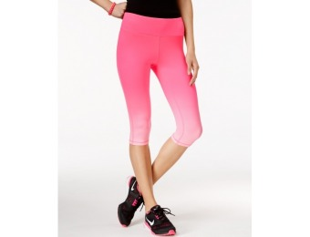 78% off Material Girl Active Pink Ribbon Ombre Cropped Leggings