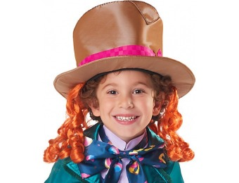 80% off Alice Through the Looking Glass Mad Hatter Hat for Kids