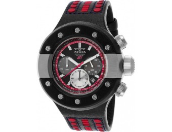 85% off Invicta Men's S1 Rally GMT Chrono Leather Watch