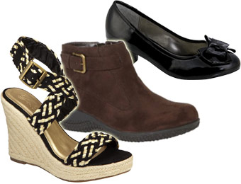 60% off shoes sale + Extra 25% off womens & kids shoes w/ promo code 25KMARTJAN