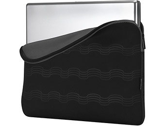 "72% off Targus 17.3"" Debossed Laptop Sleeve (Gray/Black)"