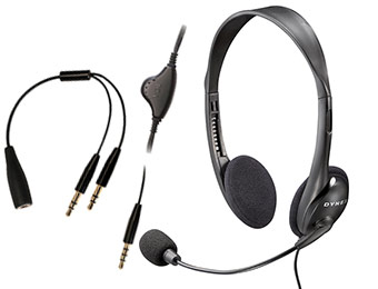 60% off Dynex DX-18U Universal Stereo Headset