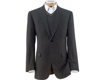 45% off Joseph 2 Button Tailored Fit Mixweave Check Sportcoat