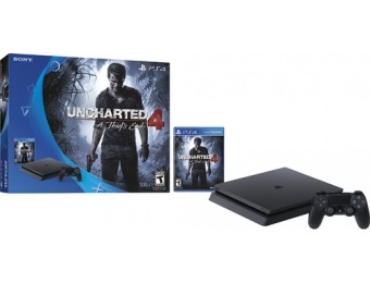 $71 off Sony PlayStation 4 Console Uncharted 4 Bundle